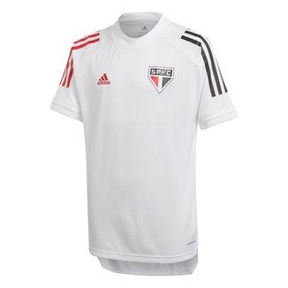 Camisa São Paulo Infantil Treino 20/21 Adidas