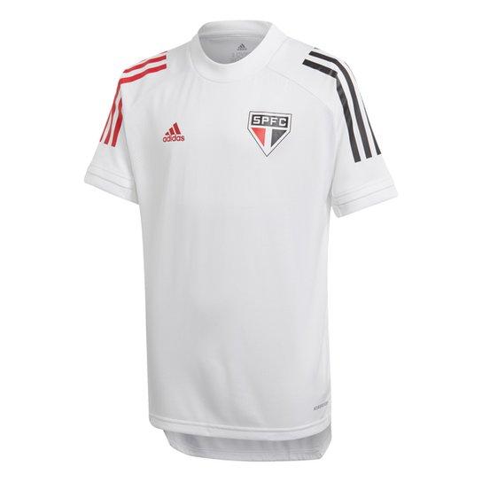 Camisa São Paulo Infantil Treino 20/21 Adidas - Branco