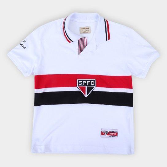 Camisa São Paulo Juvenil 92/93 Bi Mundial Retrô Mania - Branco