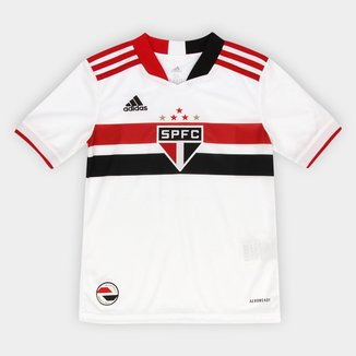 Camisa São Paulo Juvenil I 21/22 s/n° Torcedor Adidas
