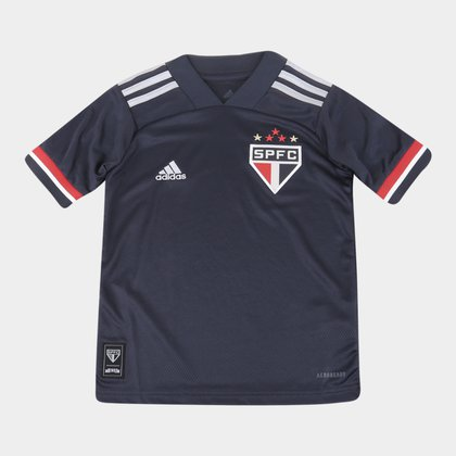 Camisa São Paulo Juvenil III 20/21 s/n° Torcedor Adidas