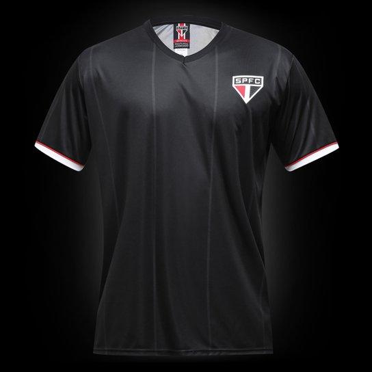 Camisa São Paulo Mito Masculina - Preto