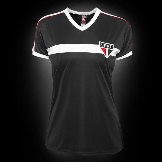 Camisa São Paulo Morumbi Feminina - Preto