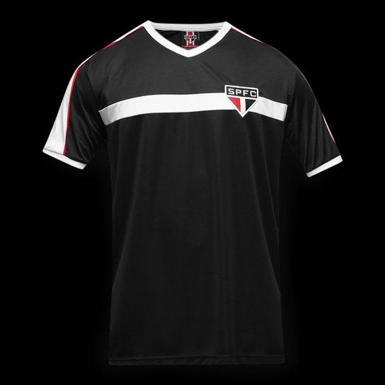 Camisa São Paulo Morumbi Masculina - Preto