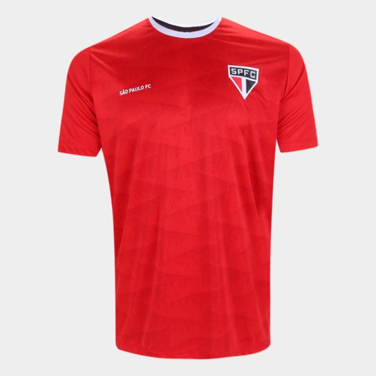 Camisa São Paulo Norm Masculina - Vermelho