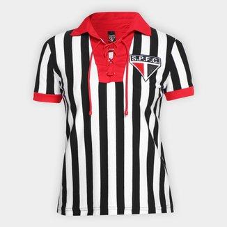 Camisa São Paulo Retrô Feminina