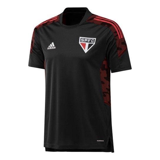 Camisa São Paulo Treino 21/22 Adidas Masculina - Preto