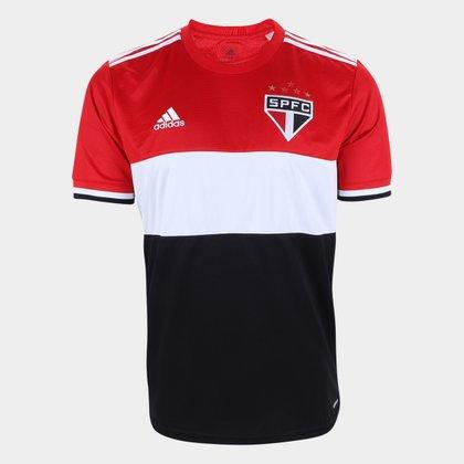 Camisa São Paulo Tricolor 21/22 s/n° Torcedor Adidas Masculina