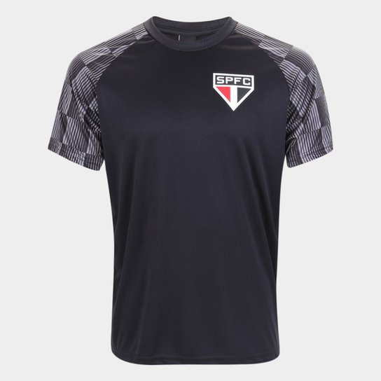 Camisa São Paulo Winner Masculina - Preto