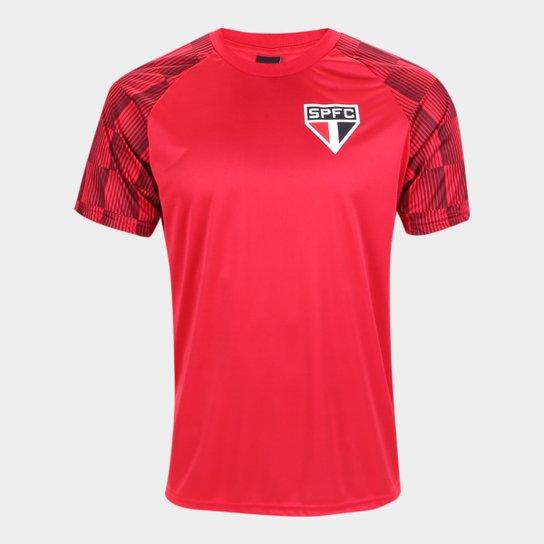 Camisa São Paulo Winner Masculina - Vermelho