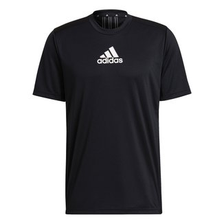 Camiseta Adidas 3 Stripes Designed To Move Masculina