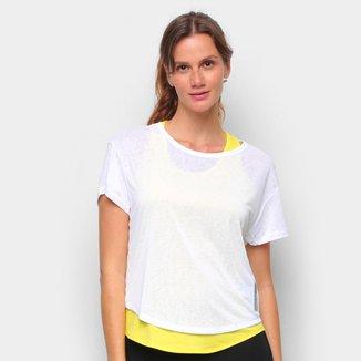 Camiseta Adidas Adapt 2 em 1 Feminina