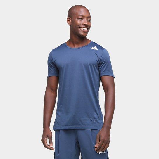 Camiseta Adidas Aeroready Primeblue Masculina - Azul