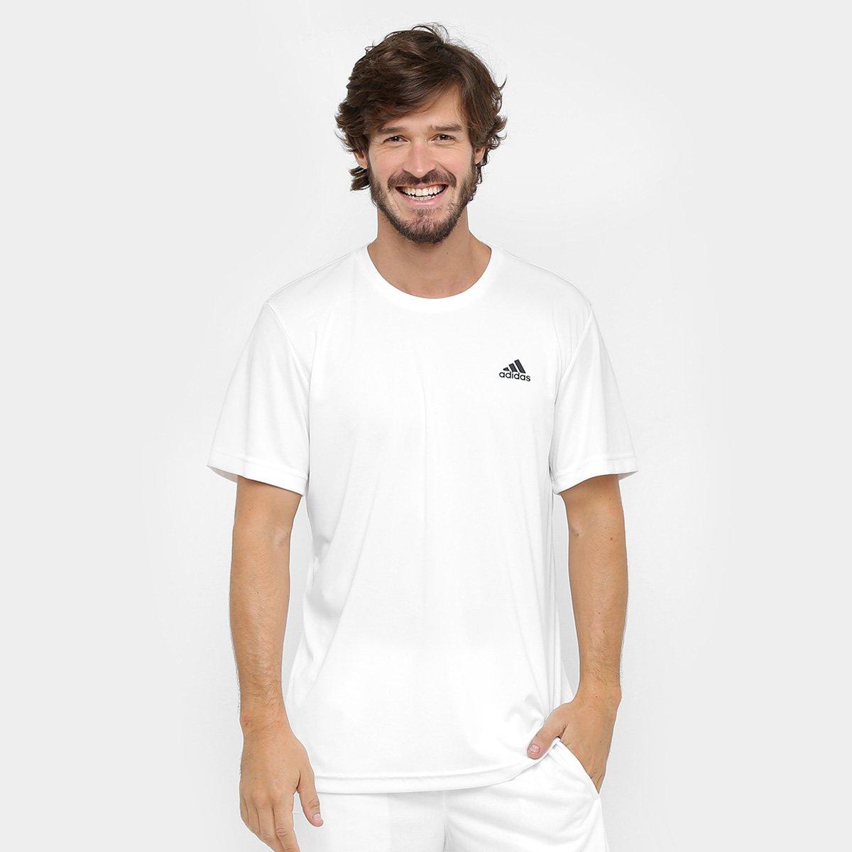 bd1dc13ce1f Camiseta Adidas Approach Masculina - Branco - Compre Agora