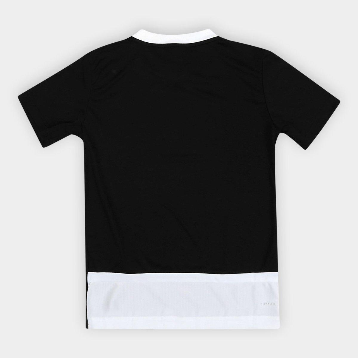 571d62ac90 Camiseta Adidas B Club Proteção UV Infantil Masculina - Preto ...