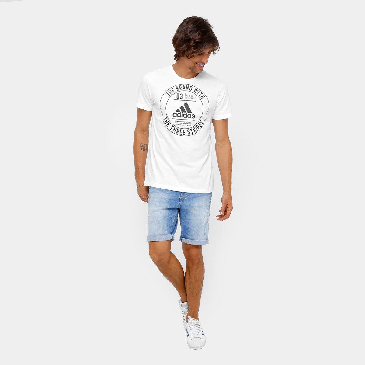 Camiseta Adidas Badge Masculina - Compre Agora  26c7f9c3176