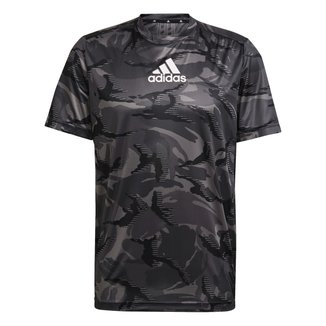 Camiseta Adidas Camuflada Designed To Move Masculina