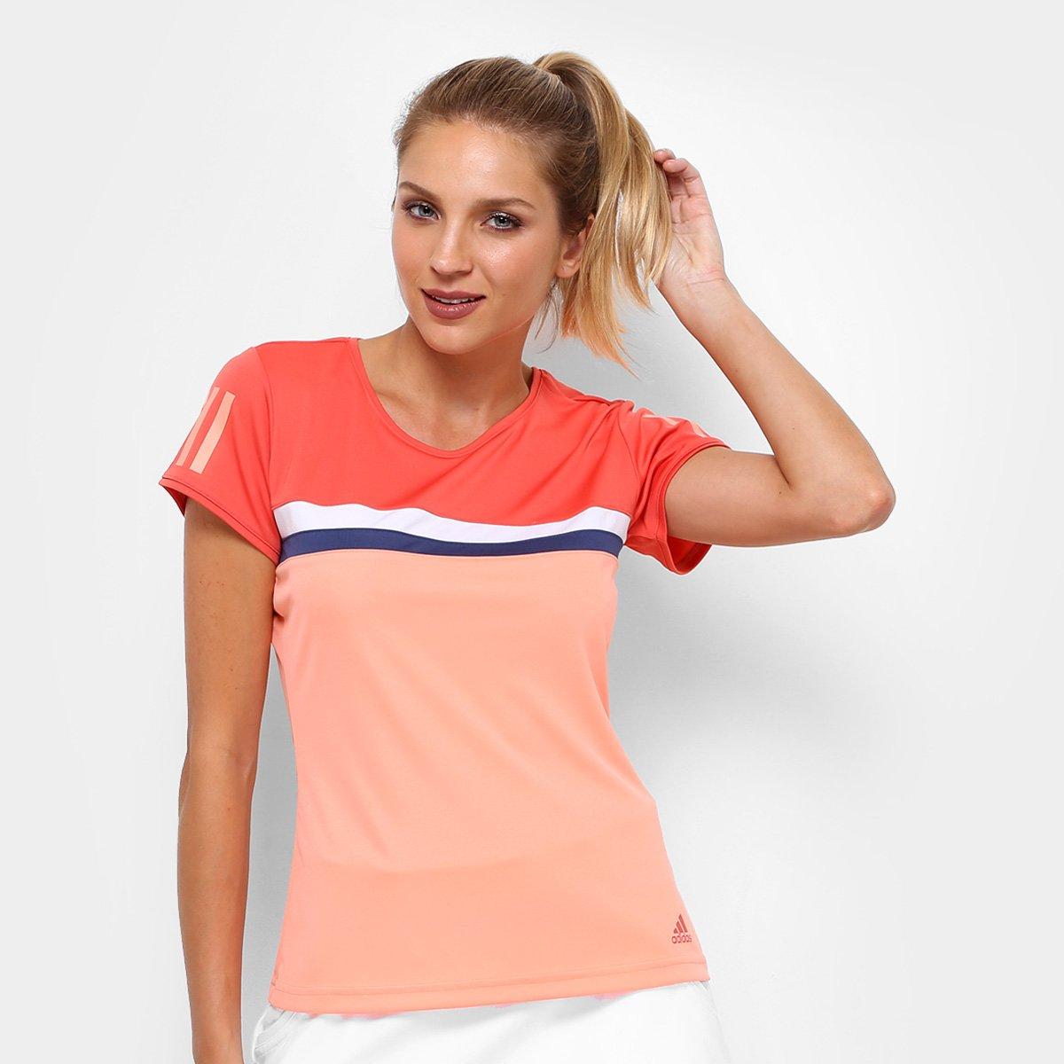476399bc00c86 Camiseta Adidas Club Color Feminina | São Paulo Mania