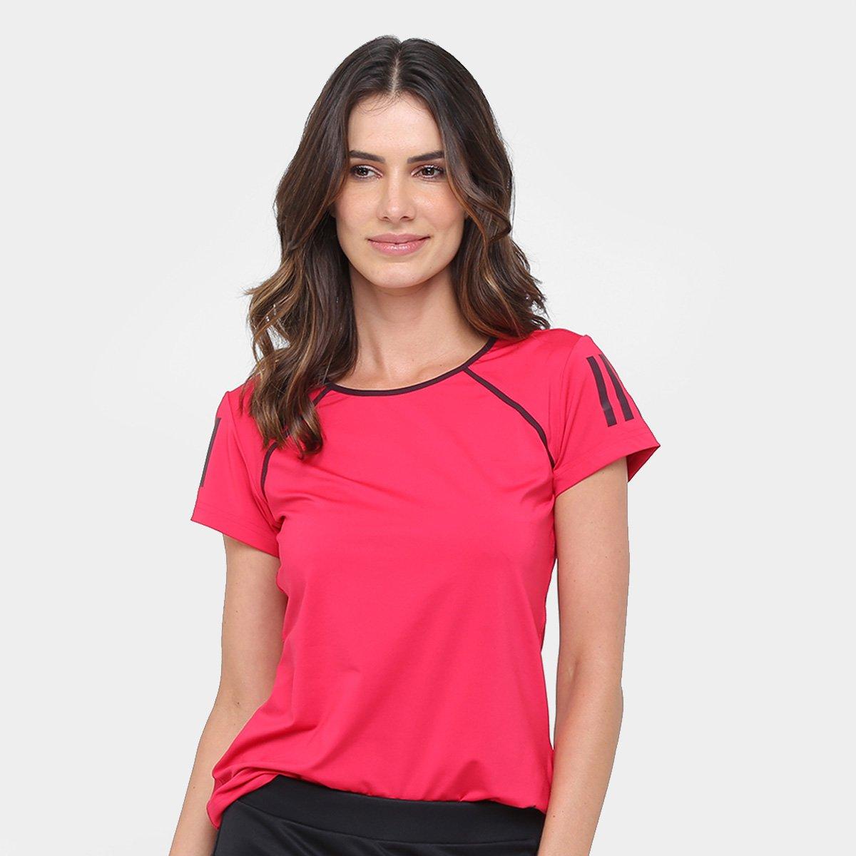 9b6deadc9ed7c Camiseta Adidas Club Feminina | São Paulo Mania