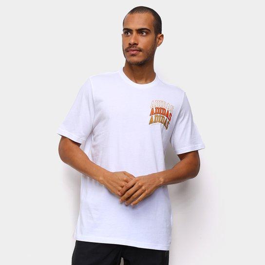Camiseta Adidas Collegiate SS Masculina - Branco