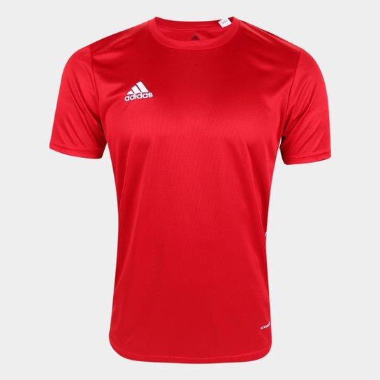 Camiseta Adidas Core 18 Masculina - Vermelho