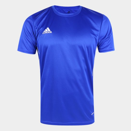 Camiseta Adidas Core 18 Masculina - Azul