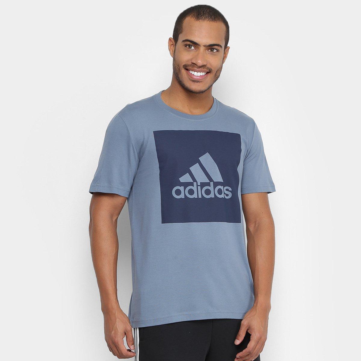 196a5b2476 ... Camiseta Adidas Ess Biglogo Masculina - Chumbo - Compre Agora São ...  bd864efedd0137 ...
