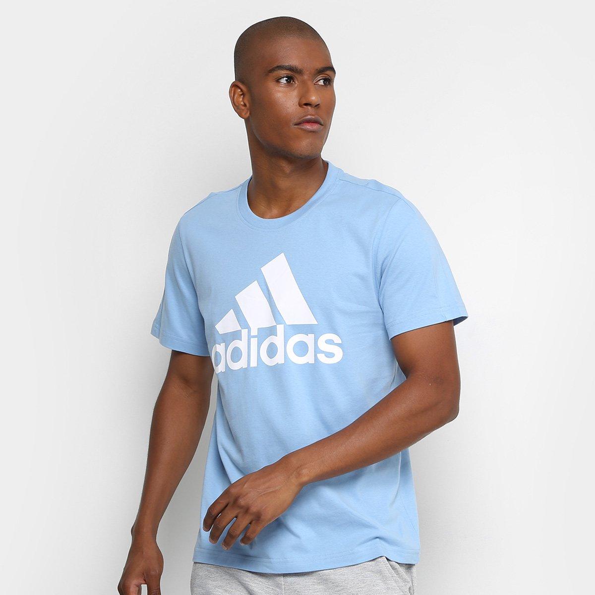 a921c30b239 Camiseta Adidas Ess Linear Masculina - Compre Agora