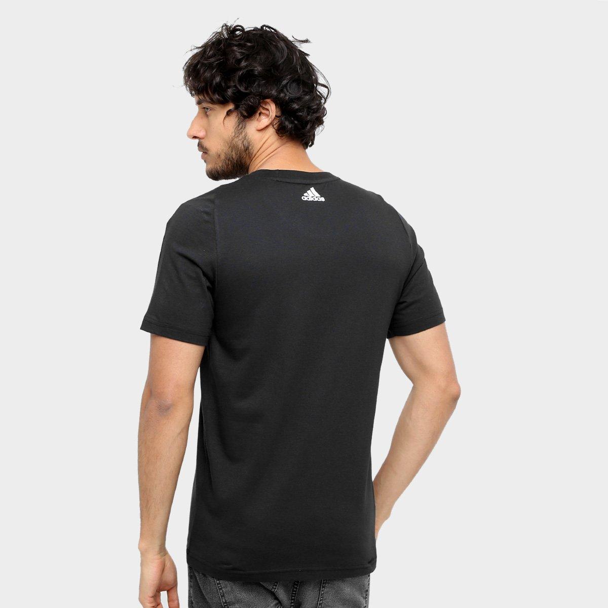 Camiseta Adidas Ess Linear Tee - Compre Agora  d5acf7b359a9b