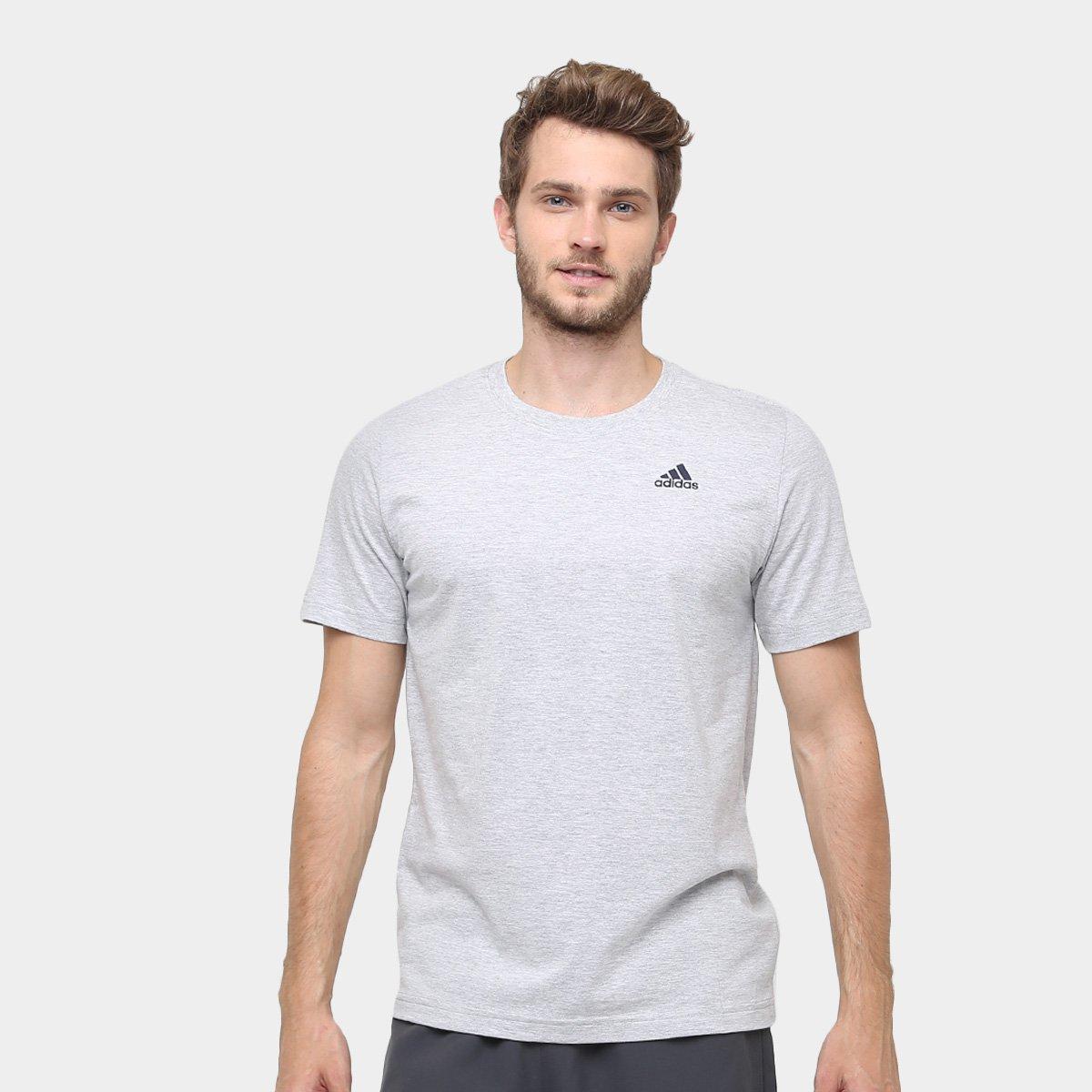 167be0469 Camiseta Adidas Essential Base Masculina - Compre Agora