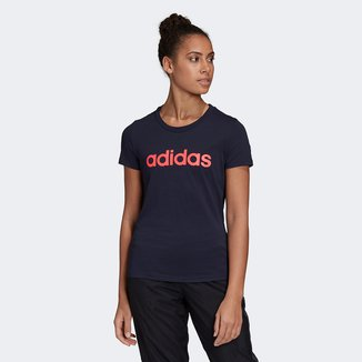 Camiseta Adidas Essentials Linear Feminina