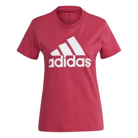 Camiseta Adidas Essentials Logo Adidas Feminina - Roxo