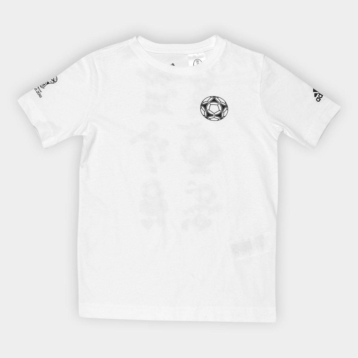 2679ec767e9 Camiseta Adidas Infantil Mascotes Copa - Compre Agora