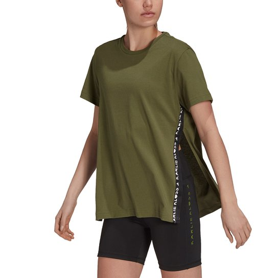 Camiseta Adidas Karlie Kloss Feminina - Verde