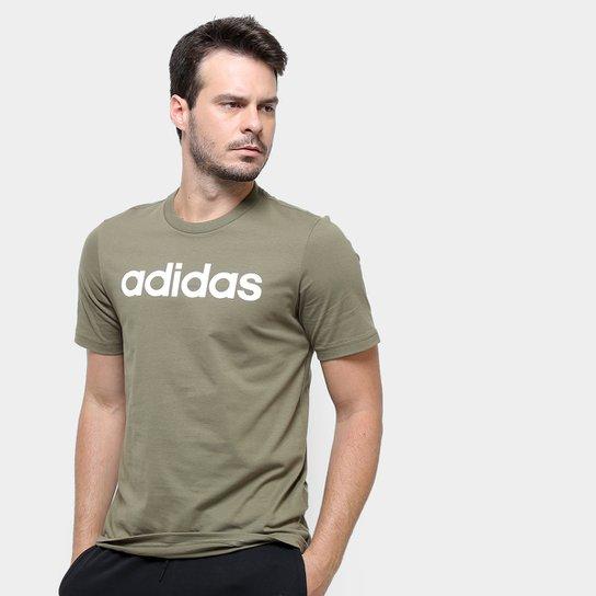 Camiseta Adidas Lin Masculina - Verde