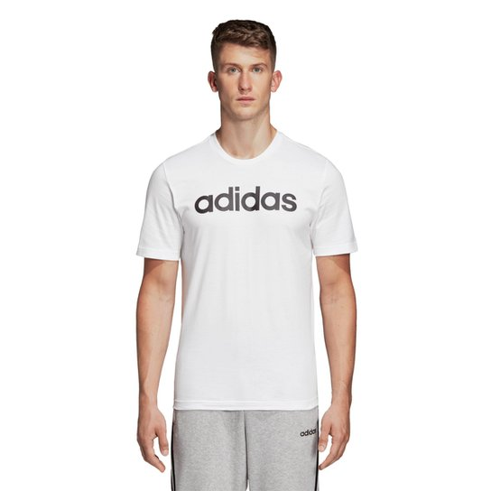 Camiseta Adidas Lin Masculina - Branco