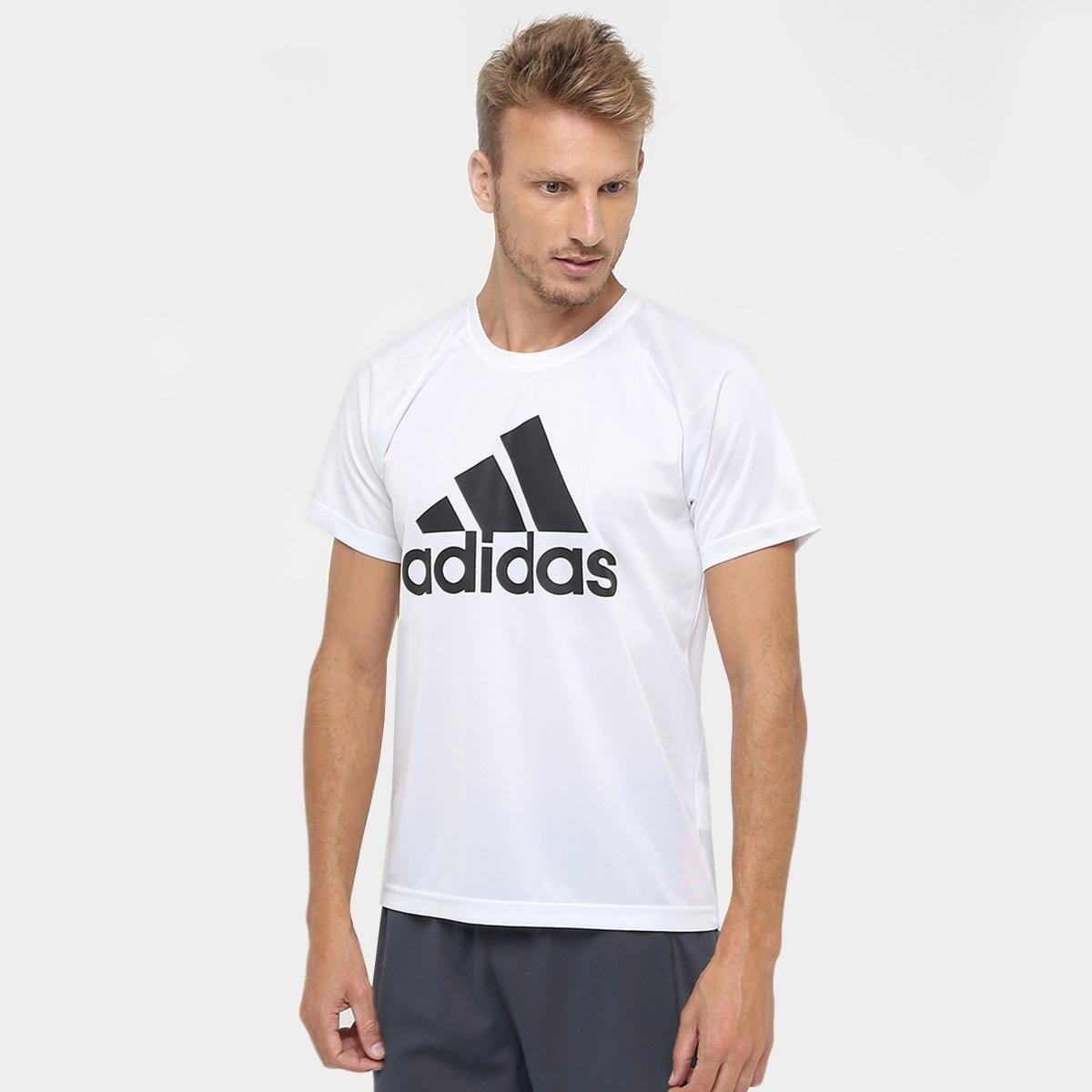 bf14582a8ce Camiseta Adidas M2M Logo Masculina - Compre Agora