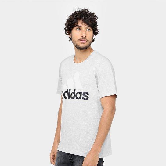 Camiseta Adidas Mc Ess Linear Masculina - Mescla