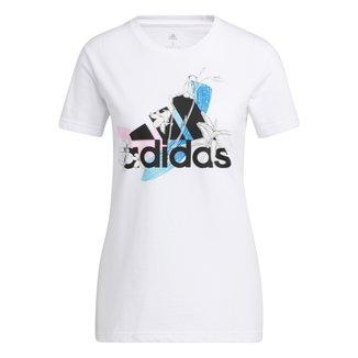Camiseta Adidas Nini Gráfica Feminina