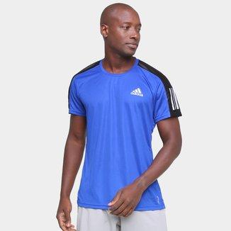 Camiseta Adidas Own The Run  Duo Color Masculina