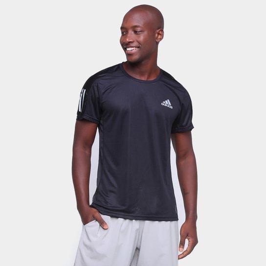 Camiseta Adidas Own The Run Masculina - Preto