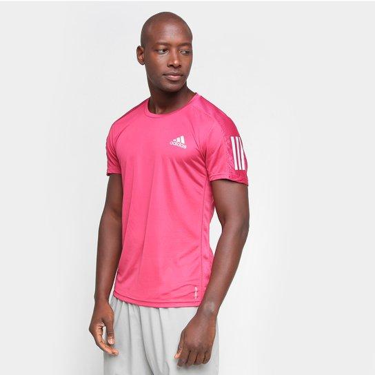 Camiseta Adidas Own The Run Masculina - Rosa