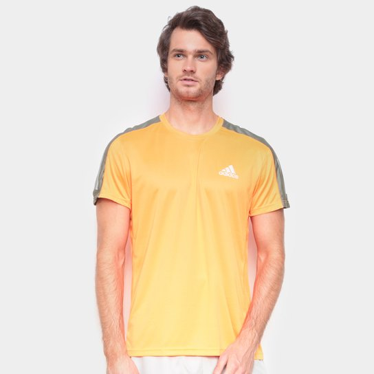 Camiseta Adidas Own The Run Prime Masculina - Laranja