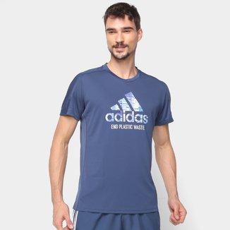 Camiseta Adidas Run For The Oceans Masculina