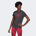 Camiseta Adidas Run Logo Feminina
