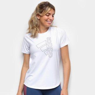Camiseta Adidas Tech Badge Of Sport Feminina