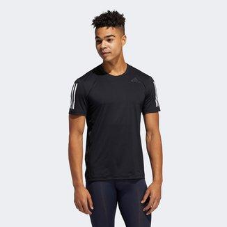 Camiseta Adidas Techfit 3 Listras Masculina