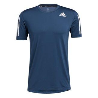 Camiseta Adidas Treino 3 Listras Masculina
