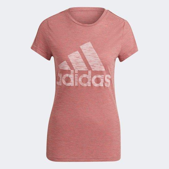 Camiseta Adidas Winners Feminina - Rosa