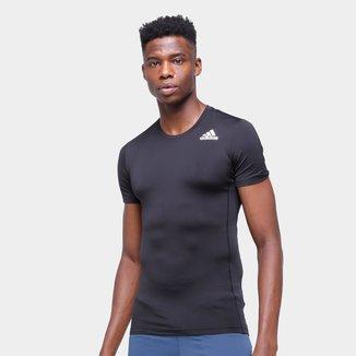 Camiseta de Compressão Adidas Masculina